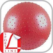 Мяч для фитнеса с насосом фитбол диаметр 75 см фото