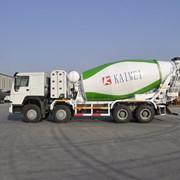 Миксер HOWO на метане 8х4 фото