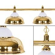 Лампа на четыре плафона Crown D38 (золотистая) фото