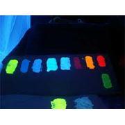 Флуоресцентная краска фото