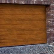 Ворота гаражные секционные фото