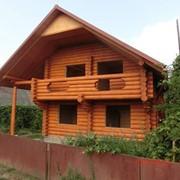 Дерев'яний дім фото