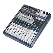 Soundcraft Signature 10 - аналоговый микшерный пульт, 10 вх., 6 предусил., 2 x dbx Lim., 2 x USB in фото