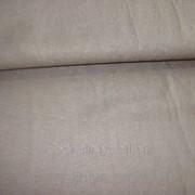 Ткань льняная ( шоколад) фото