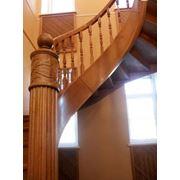 Дубовые лестницы фото