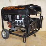 Бензогенератор Shtenli Pro S 8000, 6 кВт с электростартером фото