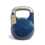 Гиря чемпионская Titan 12 кг (Синяя) фото