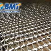 Сетка транспортерная плетеная, (сетка стержневая), для туннельных печей, сетка подовая фото