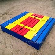 Песочница детская деревянная Трансформер с крышкой фото