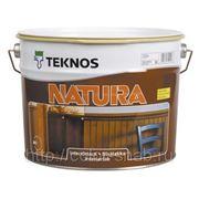 Текнос Натура матовый, 9л - водный лак для стен и потолков для дерева. фото