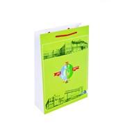 Пакет бумажный с логотипом фото