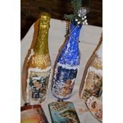 Декор шампанского фото