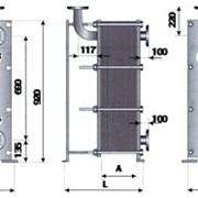 Теплообменник ТОР-15 двухходовой для ГВС с циркуляционной линией фото