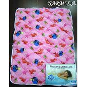 Одеяла детские стеганые размер 105х145см. фото
