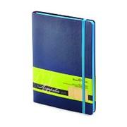 Блокнот MEGAPOLIS SOFT А5 синий на резинке 3-524/03 фото