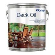 Профессиональное масло-пропитка для наружных деревянных конструкций Bona Deck Oil (Дек Ойл) (5л.) фото