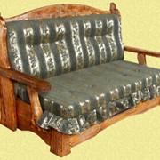 Мебель состаренная, мебель из натурального дерева, диван натуральное дерево Украина фото