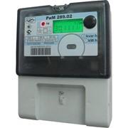 Счетчик электрической энергии однофазный РиМ-289 фото