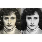 Восстановление черно-белых фотографий. фото