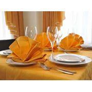 Белье столовое для дома гостиниц ресторанов кафе фото