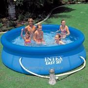 Надувной бассейн в дом Intex Easy Set Pool, 305х76 см, с фильтрующим насосом фото