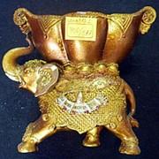 Сувенир Слон 3182 17х19 см. фото