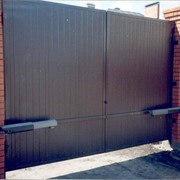 Ворота автоматические с установкой фото