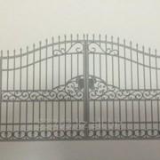 Кованные ворота А00955 фото