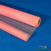 Органза снег 40см*9м розовый фото