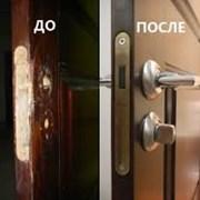 Установка и реставрация дверей. Врезка замков. фото