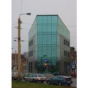 Фасадные системы из стекла фото