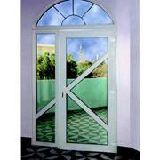 Ремонт дверей из пластика алюминия дерево-алюминия фото