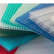 Листы поликарбонатные плоские фото