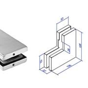 Фурнитура, Коннектор угловой на фрамугу ST-430 фото