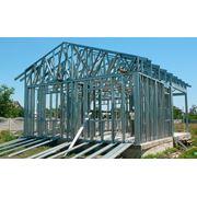 Строительство по технологии ЛСТК (Легкие стальные тонкостенные конструкции) фото