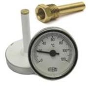Термометр Arthermo 0 - 120°С Круглий ∅63, гильза R1/2 длина 50мм фото