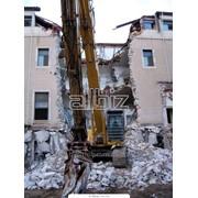 Разборка, снос зданий кирпичных. бетонных, металлических конструкций с вывозом фото