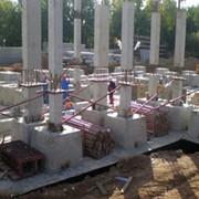 Зведення збірних бетонних та залізобетонних конструкцій фото