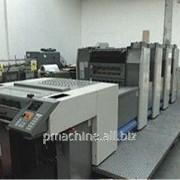 4-красочная печатная машина RYOBI 524GX, 2005 г фото