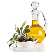 Оливковое масло из косточек оливки. фото