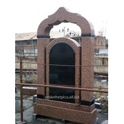 Памятник одинарный 09 фото