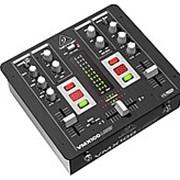 Behringer VMX100USB - микшер для DJ, 2-канальный, встроенный USB-интерфейс, МАС, РС фото