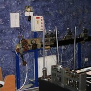 Станок для производства горизонтальных жалюзи. Линия для производства. фото