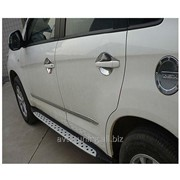 Пороги боковые Mitsubishi ASX 2010- Bmw Style фото