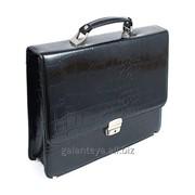 Портфель мужской из натуральной кожи, модель 5109 фото