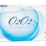 Месячные силикон-гидрогелевые контактные линзы O2O2 (1шт.) третьего поколения. фото