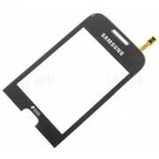 Тачскрин (TouchScreen) для Samsung C3312 black фото