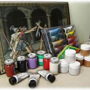 Жидкие краски для цветной гравюры фото