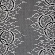 Кружево эластичное, цв. серый, шир. 16,4см фото