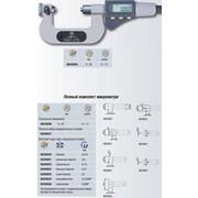 Микрометр MICROMASTER с 7 парами заменяемых вставок фото